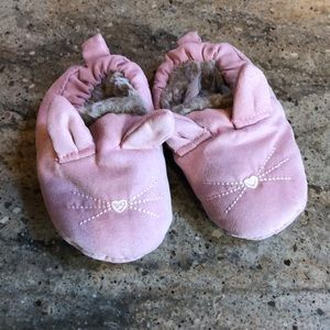 Carters baby slippers
